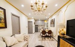 """Cận cảnh căn hộ ở Hà Nội được dát vàng, giá """"siêu đắt"""" 150 triệu đồng/m2"""