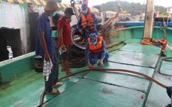 Bắt giữ tàu vận chuyển 40.000 lít dầu DO không rõ nguồn gốc