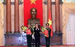 Chủ tịch nước trao quyết định thăng quân hàm Đại tướng