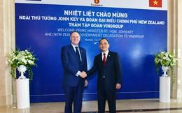 Thủ tướng New Zealand thăm Tập đoàn Vingroup