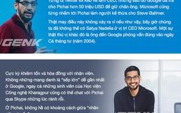"""Chuyện bây giờ mới kể về """"bộ óc thiên tài"""" của Google, Sundar Pichai"""