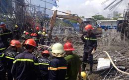 Tiếp tục cập nhật: 3 người chết, 4 người bị thương trong vụ sập giàn giáo tại TPHCM