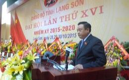 Ông Trần Sỹ Thanh làm Bí thư tỉnh ủy Lạng Sơn