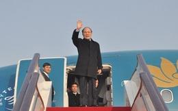 Chủ tịch Quốc hội Nguyễn Sinh Hùng đến Thủ đô Bắc Kinh, Trung Quốc