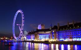 Mãn nhãn với chùm ảnh London đẹp rạng rỡ trong đêm