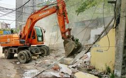 Giải tỏa 21 thửa đất vi phạm thực hiện Dự án thoát nước Hà Nội