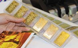 Vàng miếng tăng giá nhẹ phiên đầu tuần