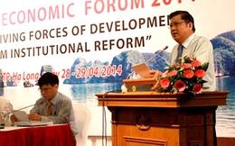"""Diễn đàn Kinh tế Mùa xuân 2015 sẽ """"thúc đẩy hành động"""""""