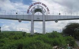 Ngạc nhiên với lối vào KCN Hưng Phú 2