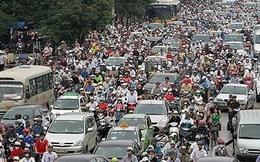 Yêu cầu Hà Nội, TP. Hồ Chí Minh tăng giải pháp giảm ùn tắc
