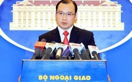 Phản ứng của Việt Nam về việc Hoa Kỳ đưa tàu đi tuần tra