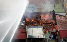 Hà Nội: Hiện trường vụ cháy tại khu tập thể cũ Trần Quốc Toản