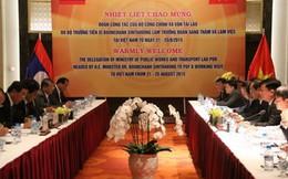 Việt-Lào sớm ký Bản ghi nhớ về hợp tác giao thông 2016-2025