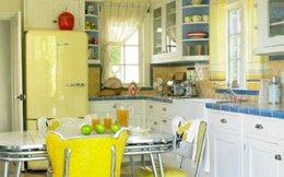 Căn bếp ngọt ngào theo phong cách Vintage