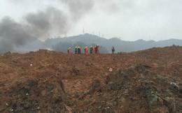 Hiện trường vụ lở núi ở Trung Quốc, nhiều người bị mắc kẹt