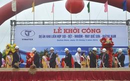 Quảng Nam khởi công nhiều công trình lớn