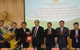 Tập đoàn công nghệ Ace Technologies đầu tư 60 triệu USD vào Hà Nam