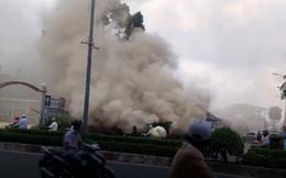 TP. HCM: Khói mù mịt ở Parkson Lê Đại Hành, hàng trăm người hoảng loạn