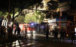 Cháy căn hộ ở tầng 3 chung cư trung tâm Sài Gòn