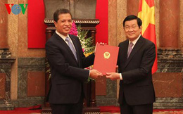 Chủ tịch nước trao quyết định bổ nhiệm đại sứ