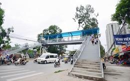 Hà Nội: Xây cầu vượt trước cổng trường tiểu học, trung học Tân Mai