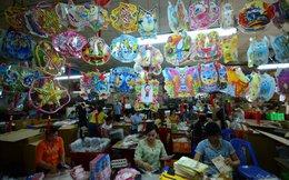 Lồng đèn Trung Quốc ăn cắp mẫu Việt
