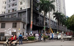17/21 nhà cao tầng của đại gia Lê Thanh Thản không đảm bảo an toàn PCCC