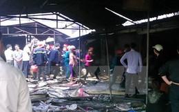 Hóa vàng gây hỏa hoạn lớn tại chợ Kinh Môn ở Hải Dương