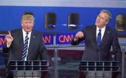 Đấu khẩu Jeb Bush- Trump: Lộ diện ứng viên Tổng thống Đảng Cộng hòa