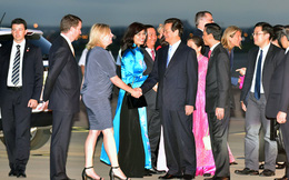 Thủ tướng Nguyễn Tấn Dũng tới Australia
