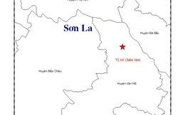 Động đất 3,4 độ richter tại Sơn La