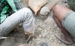 Con số người chết trong trận động đất ở Nepal đã lên tới 1.805