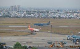 Sét đánh hư một đường băng Sân bay Tân Sơn Nhất