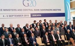 G20: Để thúc đẩy tăng trưởng kinh tế, lãi suất thấp là chưa đủ