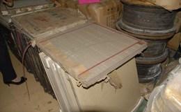 Bắt hơn 700 thùng gạch men Trung Quốc nhập lậu