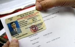 1.000 người đã đổi giấy phép lái xe qua mạng