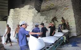 Giá gạo giảm xuống dưới giá sàn