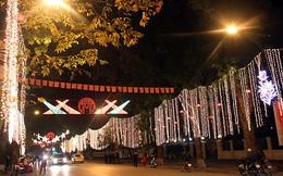 Hà Nội: Gần 23 tỷ đồng trang trí chiếu sáng đường phố