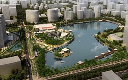 Hà Nội chuẩn bị đầu tư xây dựng hai dự án công viên hồ điều hòa