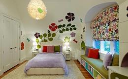 """Nhà """"đẹp từng centimet"""" với sắc hoa xuân rực rỡ"""