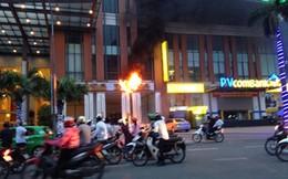 Cháy khách sạn Dầu khí Thái Bình