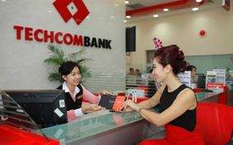 Techcombank: 6 tháng tín dụng tăng trưởng gần 12%