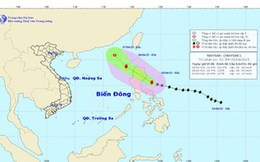 Tối nay bão Maysak đổ bộ biển Đông, gió giật cấp 10