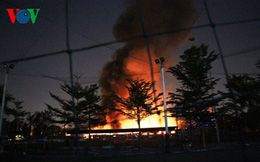 Cháy kho hàng nội thất trong đêm, thiệt hại hơn 2 tỷ đồng