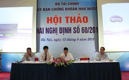 """Phó Chủ tịch UBCK: """"NVDR không giải quyết được thấu đáo các vấn đề ở Việt Nam"""""""