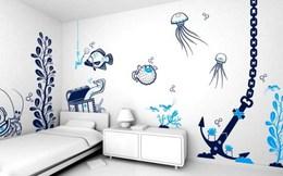 Ngắm những kiểu trang trí tường nhà đẹp đến bất ngờ