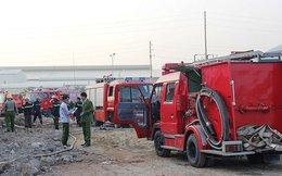 Nhà xưởng rộng hơn 5000m2 đổ sập sau vụ cháy lớn