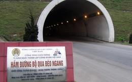 Cần trên 900 tỉ đồng để mở rộng hầm đường bộ qua Đèo Ngang
