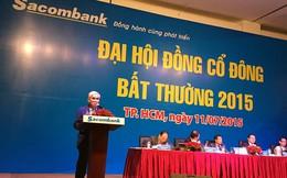 Đại diện Eximbank: Cổ đông Sacombank cần quan tâm đến đầu tư lâu dài