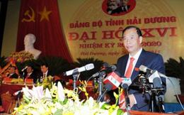 Ông Nguyễn Mạnh Hiển là tân Bí thư Tỉnh ủy Hải Dương
